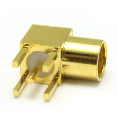 MMCX Right Angle PCB  Mount Jack - Image 3