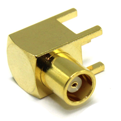 MCX Right Angle PCB Mount Jack - Image 2