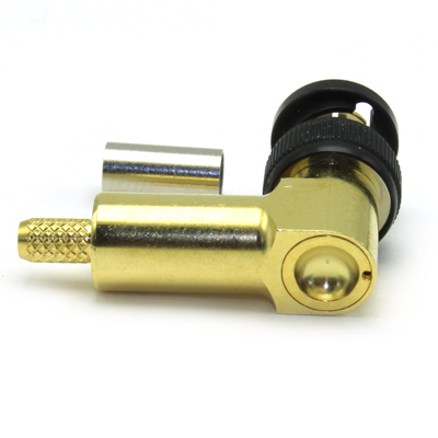 BNC 12GHz Right Angle Crimp / Crimp Plug - Image 4
