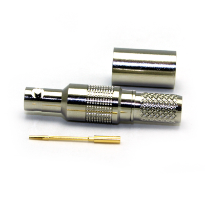 Micro BNC Straight Crimp / Crimp Jack 75 ohm 12GHz - Image 3