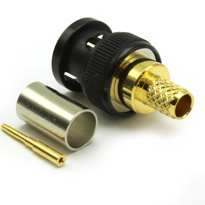 'KORUS' Ultra HD 12G BNC Straight Crimp / Crimp Plug True 75 Ohm - Image 4