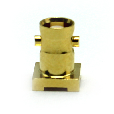 67-476-1-D66-8.3- Micro BNC Straight Surface Mount PCB Jack 75 ohm 12GHz