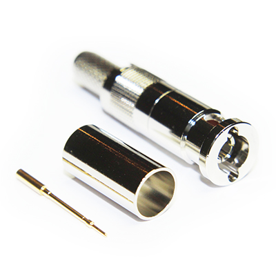 Micro BNC Straight Crimp / Crimp Plug 75 ohm 12GHz - Image 2