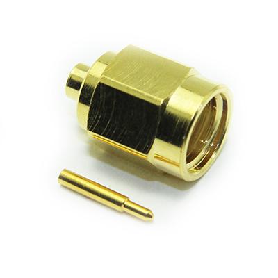 30 014 D3 Hb Sma Straight Solder Solder Plug Coax