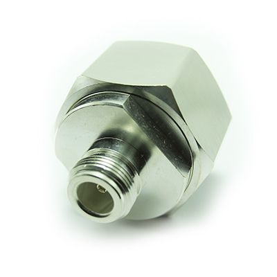 N Type Jack to LC Plug Straight Adaptor ( Silver ) - Image 4