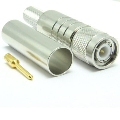 13-018-Q3-DO - TNC Straight Plug with Easy Fit Anti-Piston Contact